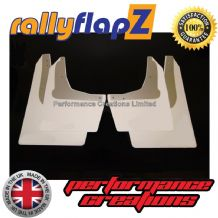 Civic Sport (2001-2007) WHITE MUDFLAPS